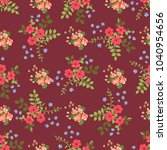 seamless gorgeous pattern in... | Shutterstock . vector #1040954656