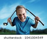 An Angry  Frustrated Golfer...