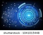 digital background with modern...   Shutterstock .eps vector #1041015448