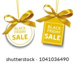set of decorative sale tags... | Shutterstock .eps vector #1041036490