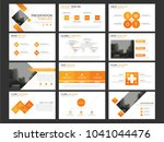 orange bundle presentation... | Shutterstock .eps vector #1041044476