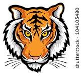tiger | Shutterstock .eps vector #104105480