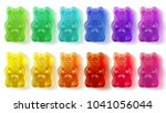gummy bears colorful | Shutterstock . vector #1041056044