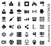 flat vector icon set   mixer... | Shutterstock .eps vector #1041078628