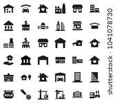 flat vector icon set   house...   Shutterstock .eps vector #1041078730