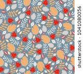 decorative seamless pattern of... | Shutterstock .eps vector #1041080056
