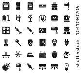 flat vector icon set   vacuum...   Shutterstock .eps vector #1041080206