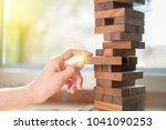 business gambling placing...   Shutterstock . vector #1041090253