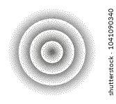 halftone background. gradient...   Shutterstock .eps vector #1041090340