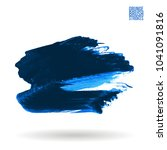 blue brush stroke and texture.... | Shutterstock .eps vector #1041091816