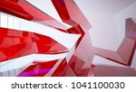 abstract white and colored...   Shutterstock . vector #1041100030
