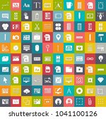 web design icons  graphic... | Shutterstock .eps vector #1041100126