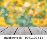 leaf bokeh background with... | Shutterstock . vector #1041103513