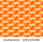 geometric tiling in shades of... | Shutterstock .eps vector #1041145288