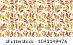 floral seamless pattern.... | Shutterstock .eps vector #1041149476
