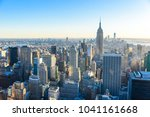 new york city   usa. view to... | Shutterstock . vector #1041161668