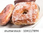 Selection Of Gourmet Donuts On...