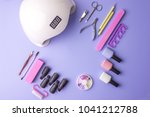 a set of cosmetic tools for... | Shutterstock . vector #1041212788
