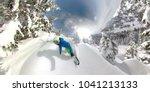 360 overcapture  freeride...   Shutterstock . vector #1041213133