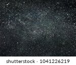 starry night sky | Shutterstock . vector #1041226219