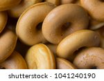 the many donuts. donuts dough... | Shutterstock . vector #1041240190