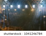 stage show with pyrotechnics ... | Shutterstock . vector #1041246784