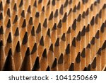 close up of bunch of identical... | Shutterstock . vector #1041250669
