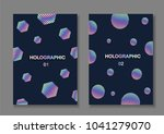 brochure template design. set... | Shutterstock .eps vector #1041279070