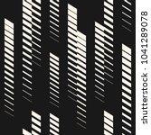 abstract geometric seamless... | Shutterstock . vector #1041289078