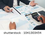 business partner marketing team ... | Shutterstock . vector #1041303454