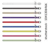 dog collar vector illustration... | Shutterstock .eps vector #1041306466