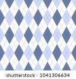 seamless argyle pattern in pale ... | Shutterstock .eps vector #1041306634