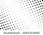 abstract halftone wave dotted... | Shutterstock .eps vector #1041313603