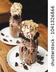 Chocolate Brownie Milkshake....