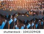 behind the scenes graduates at... | Shutterstock . vector #1041329428