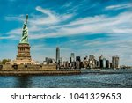 Statue Of Liberty Monument In...