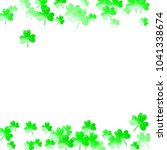 st patricks day background with ...   Shutterstock .eps vector #1041338674