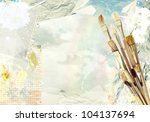 creative art composition by... | Shutterstock . vector #104137694