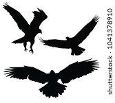 eagle is a bird | Shutterstock .eps vector #1041378910