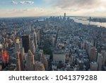 midtown  greenwich village and... | Shutterstock . vector #1041379288