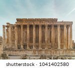 bacchus temple at the roman... | Shutterstock . vector #1041402580