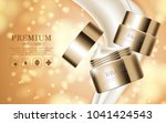 hydrating facial cream for... | Shutterstock .eps vector #1041424543
