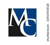 letter m and c vector logo. | Shutterstock .eps vector #1041443518