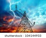 Dramatic Image Of Power...