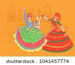 vector design of couple... | Shutterstock .eps vector #1041457774