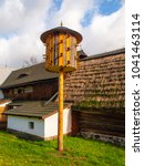 Vintage Wooden Dovecote In...