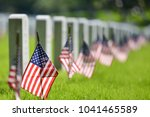 united states national flags... | Shutterstock . vector #1041465589