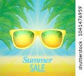 summer sale banner   Shutterstock .eps vector #1041476959