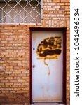 interesting doorway entrys | Shutterstock . vector #1041496534