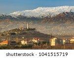 a mosque in bekaa valley near... | Shutterstock . vector #1041515719